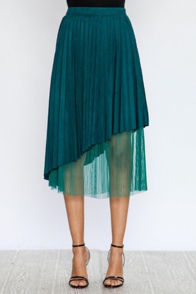 Taffy Teal Skirt